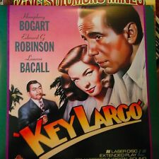 Key Largo - Black & White  Laserdisc Buy 6 for free shipping