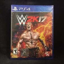 WWE 2K17 (Sony PlayStation 4, 2016) BRAND NEW / Region Free