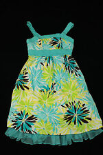 My Michelle Flower Strapless Dress with Ruffle Trim Girls Size 10