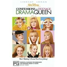 CONFESSIONS OF A TEENAGE DRAMA QUEEN-Lindsay Lohan-Region 4-New AND Sealed