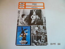 CARTE FICHE CINEMA 1950 HARVEY James Stewart Josephine Hull Peggy Dow C.Drake