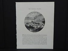 Picturesque Europe In-Text Illustration #23 Channel Islands Portelet Bay, Jersey