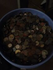 50 lbs. Mixed Foreign Coin Bulk Wholesale Lot