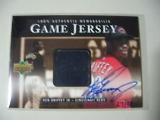2000 Upper Deck Game Jersey Autograph Numbered Ken Griffey Jr AUTO #ed 27/30