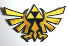 "Legend of Zelda Hyrule's Royal Crest Gold Logo 4.5"" Die-Cut Patch (ZEPA-005)"