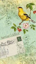 Set of 16 Guest Towel Buffet 2-ply Napkins - Aero Postale American Goldfinch