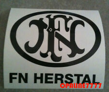 STICKER  AUTOCOLLANT DECAL AUFKLEBER  FN HERSTAL MOTO ANCIENNE MOBYLETTE GILLET