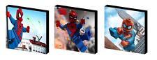 LEGO SPIDERMAN Tela Arte blocchi / Wall Art PLACCHE / immagini