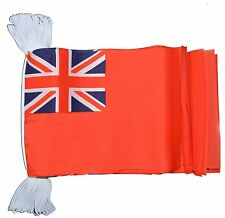 RED ENSIGN 3 METRE BUNTING 10 FLAGS flag 3M NAVY BRITAIN BRITISH BOATS YACHT