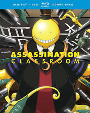 Assassination Classroom: Season One - Part Two (Blu-ray Disc, 2016, 4-Disc Set)