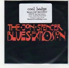 (DL774) The Jon Spencer Blues Explosion, Bag of Bones - 2012 DJ CD
