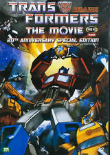 TRANSFORMERS : THE MOVIE - Animation (1986) *20th Anniversary Edition DVD *NEW