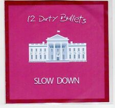 (EF209) 12 Dirty Bullets, Slow Down - DJ CD