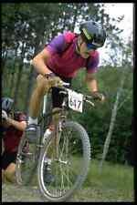 732023 Homme vtt course haut de la montée A4 papier photo