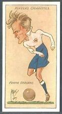 "PLAYERS 1927 FOOTBALL CARICATURES BY ""MAC""- #27-TOTTENHAM HOTSPUR-FRANK OSBORNE"