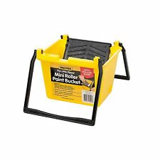 UNi-PRO MINI ROLLER PAINTERS BUCKET 1.5 Litre, Finger Grip On The Base AUS Made