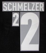 Authent. DFB Deutschland SCHMELZER Flock für Adidas Away Trikot EM2012-Quali2014
