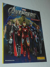 THE AVENGERS Sticher Album PANINI (album di figurine marvel 2012)