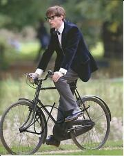 Hand Signed 8x10 photo EDDIE REDMAYNE in THE THEORY OF EVERYTHING Stephen Hawkin