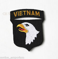 101ST AIRBORNE VIETNAM VETERAN EMBROIDERED PATCH 3 INCHES