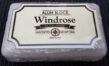 Windrose Refill Alum Block 100g Made in Spain Soothes Shaving Irritation