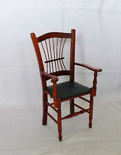 Miniature Ornamental Country Carver Wooden Windsor Style Chair