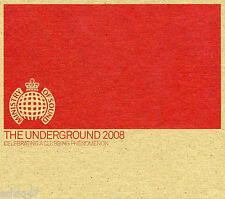 3 CD THE UNDERGROUND 2008 MINISTRY OF SOUND