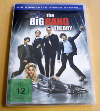 DVD Box The Big Bang Theory Staffel Season 4 Die komplette vierte Staffel Neu
