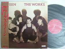 PROMO LABEL / QUEEN THE WORKS / UNPLAYED / WITH POSTER