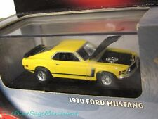 NEW 100% Hot Wheels 1970 FORD MUSTANG Boss 302 1:64 Limited Ed Black Box SEALED