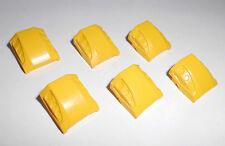 Lego (44675) 6 Schrägsteine/Motorhauben 2x2, in gelb aus 7774 5887 7746 7776