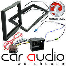 Vauxhall Corsa D Car Stereo Double Din Fascia Panel & Fitting Kit Piano Black