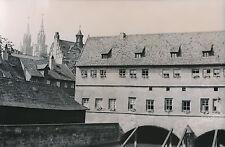 ALLEMAGNE c.1940 - Maisons Ville Médiévale La Pegnitz Nuremberg - DIV8378