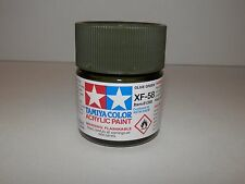 Tamiya Color Acrylic Paint Olive Green #XF-58 (23 ml) NEW