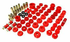 Energy Master Hyper Flex Bushing Kit 92 93 94 95 Honda Civic / 93-97 Del Sol RED