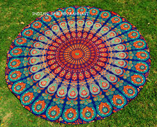 "46"" Round Mandala Indian Bohemian mandala Tapestry Beach Rug Yoga Mat Throw Au"