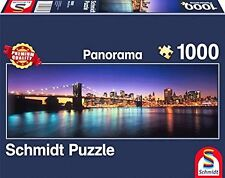 Lights of New York: Schmidt Jigsaw Puzzle 1000 pieces Panorama puzzle 58282