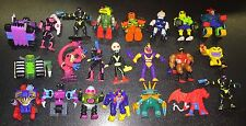 Vintage ZBOTS Lot of 22 Figures Micro Machines Galoob