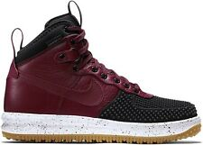 Nike Lunar Force 1 Duckboot Mens Size 9.5 Black Team Red White Gum 805899 0