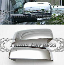 2009-2012 Dodge Ram 1500/10-12 Ram 2500 Chrome Door Mirror Covers- Half Cover