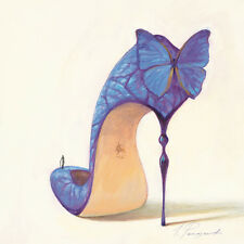 Inna Panasenko: Sketches of Love VIII Fertig-Bild 30x30 Wandbild High Heel Kult