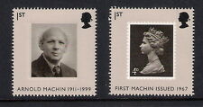 GB mint stamps - 2007 40th Anniversary Machin Definitives, SG2741/2742, MNH