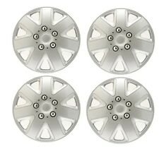 15  ALLOY LOOK CAR WHEEL TRIMS COVERS HUB CAPS fit NISSAN MICRA ALMERA PRIMERA