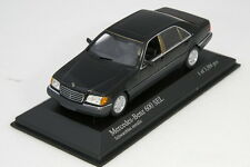 Minichamps 1/43 Mercedes-benz 600 SEL W140 Black Metallic 1991 PMA Limited Rare