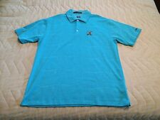 NEW Nike Men's TIGER WOODS Edition Golf Polo US Open 2007 Oakmont Teal Size L
