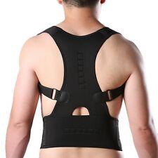 Magnetic Posture Corrector Belt Back Shoulder Support Brace Straightener Unisex