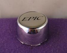 Epic Chrome Custom Wheel Cap Set of One (1) pn: 899037
