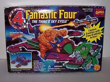 Marvel Comics Fantastic Four The Thing's Sky Cycle Claw-Grabbing Action NIB