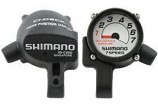 SHIMANO MEGARANGE Deck 7-ci SPEED id-c050 MANUBRIO Dial Display ORIGINALE NOS