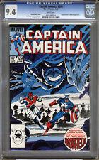 Captain America #306 CGC 9.4 NM WHITE Pages Universal CGC #0931097024